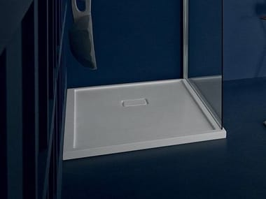 Square shower tray FLAT SYSTEM | Shower tray