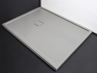 Rectangular Tecnoril® shower tray FLAT SYSTEM | Tecnoril® shower tray