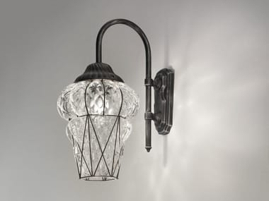 Murano glass outdoor wall lamp PIAZZA EB 114