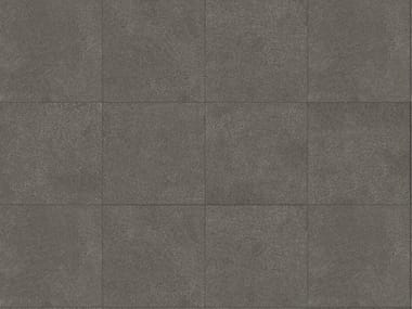 Porcelain stoneware outdoor floor tiles with stone effect PIETRA BASALTO 3 CM