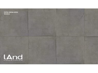Technical porcelain wall/floor tiles with stone effect PIETRA SERENA MOSS