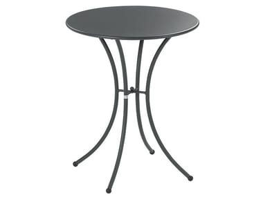Round steel garden table PIGALLE | Round table