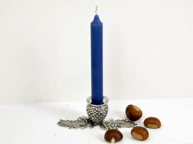Britannia metal candle holder PIGNA   Candle holder