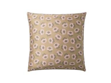 Federa stampata in cotone con motivi floreali OPIUM | Federa