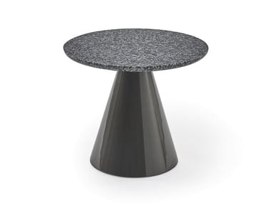 Round granite coffee table PION | Granite coffee table