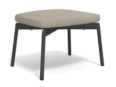 Low fabric garden stool PIPER 520