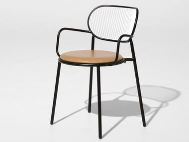 Chair with integrated cushion PIPER   Chair with integrated cushion