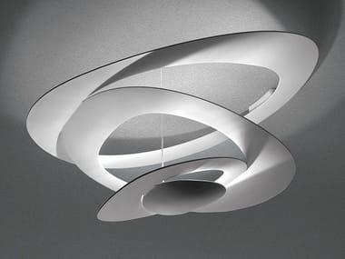 Lampada da soffitto a luce indiretta in alluminio PIRCE MINI | Lampada da soffitto