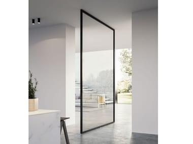 Pivot glass door QUADRA | Pivot door