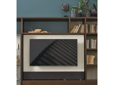 Swivel TV cabinet PIVOT