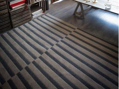 Rectangular polypropylene rug PALMA 02