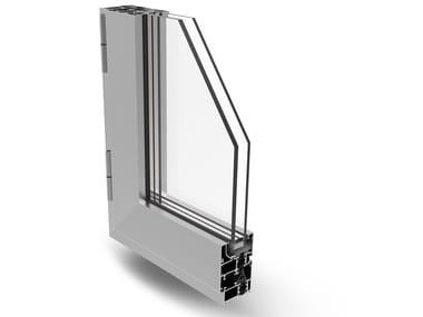 Aluminium casement window PLANET 50 PLUS