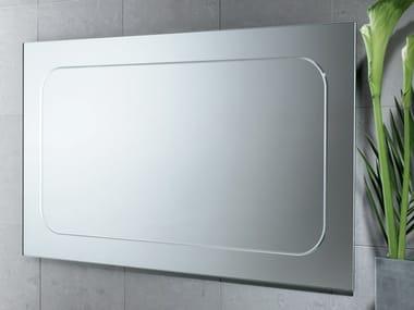 Rectangular bathroom mirror PLANET