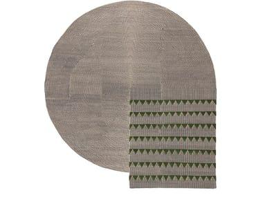 Handmade custom rug PLASTERWORKS C