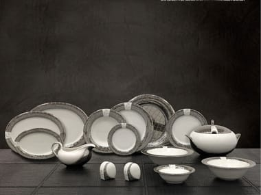 Porcelain plates set TL MARGHERITA