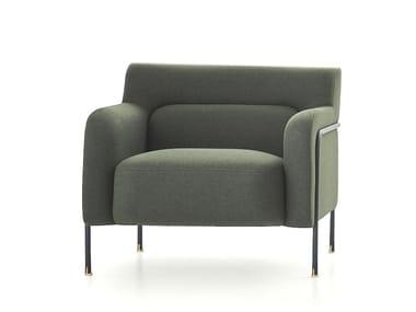 Fabric armchair PLATEA   Armchair