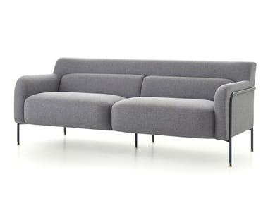 2 seater fabric sofa PLATEA   Sofa