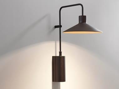 Lampada da parete per esterno a LED in alluminio PLATET A/01 OUTDOOR