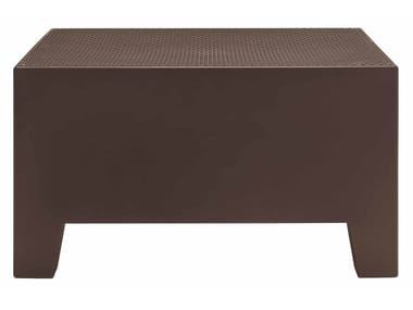 Modular square polyethylene coffee table PLAYA | Polyethylene coffee table