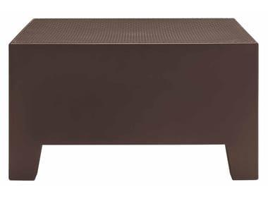 Tavolino modulare quadrato in polietilene PLAYA | Tavolino in polietilene