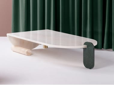 Marble center table PLAYING GAMES | Center tables