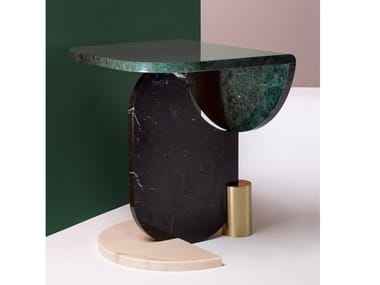 Marble side table PLAYING GAMES | Side table