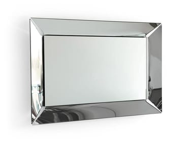 Rectangular wall-mounted mirror PLEASURE | Wall-mounted mirror