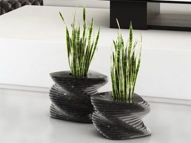 Marble vase PLECTRUM | Marble vase