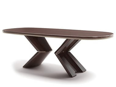 Rectangular wooden table PLIE