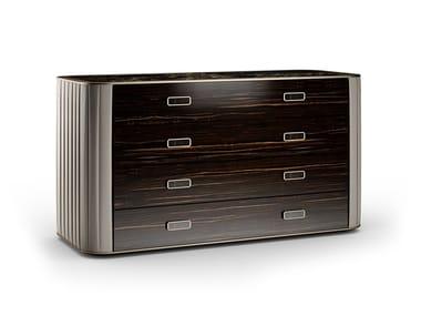 Cassettiera in legno PLISSÈ | Cassettiera