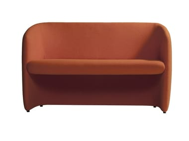 Fabric small sofa PLUM 560S