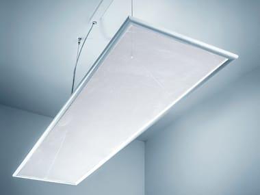 LED direct-indirect light PMMA pendant lamp PLUMA