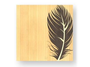 Wooden Decorative panel PLUME WARM