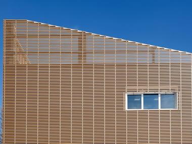 Doga in legno composito Profilo 75x15