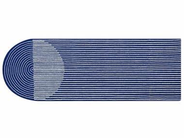 Tappeto in lana PLY BLUE