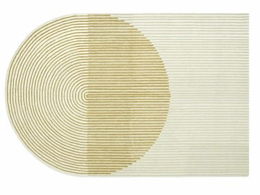 Wool rug PLY YELLOW