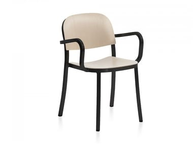 Plywood chair with armrests 1 INCH | Chair with armrests