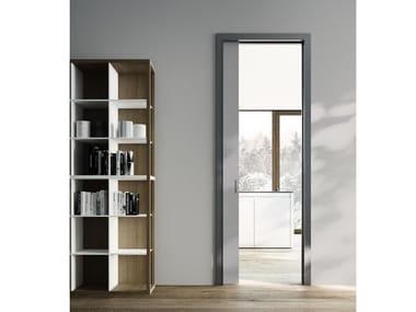 Wooden pocket sliding door TESA | Pocket sliding door