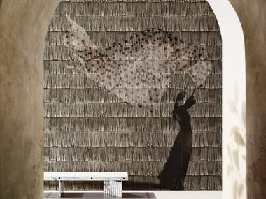 Panoramic wallpaper POID PLUME