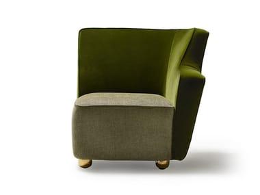 Corner fabric armchair BAIA LF