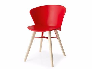 Polypropylene garden chair BAHIA | Polypropylene chair