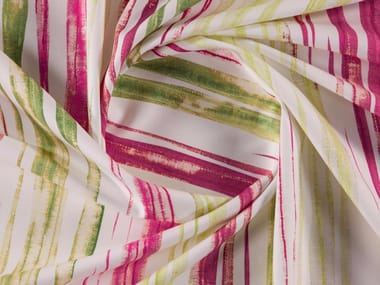 Striped printed cotton fabric for curtains POP