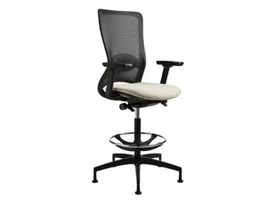 Ergonomic swivel mesh task chair POP | Task chair with 5-Spoke base