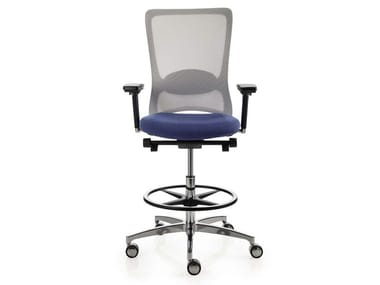 Ergonomic swivel mesh task chair POP | Task chair with castors