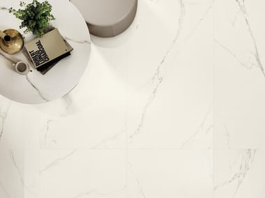 Porcelain stoneware flooring with marble effect MAJESTIC | Flooring with marble effect