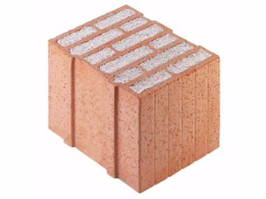Thermal insulating clay block Porotherm PLAN PLUS 30 - 0,08
