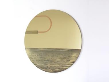 Wall-mounted mirror PORTHOLE