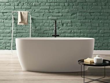 Vasca da bagno centro stanza ovale in Kstone PORTOFINO