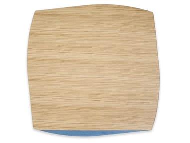 Tovaglietta quadrata in legno PORTOFINO OAK LIGHT BLUE TAY | Tovaglietta quadrata