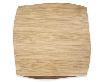 Tovaglietta quadrata in legno PORTOFINO OAK WALNUT | Tovaglietta quadrata